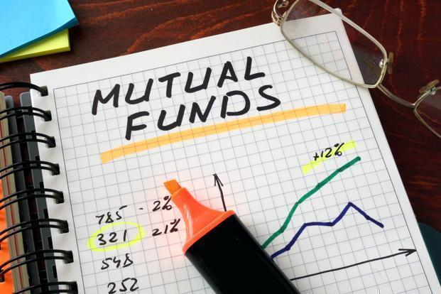 Mutual Funds Written On A Notes With Marker
